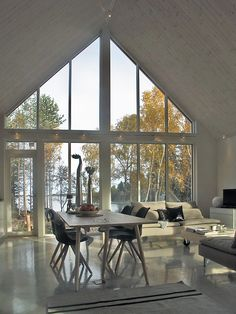 Modern wooden house in Finland. Sunhouse – Modern Prefab Homes Sunhouse Modern wooden house in Finland. Sunhouse – Modern Prefab Homes Sunhouse Modern Wooden House, Wooden House Design, Small Wooden House, Modern Prefab Homes, A Frame House, Scandinavian Home, My Dream Home, Interior Architecture, House Plans