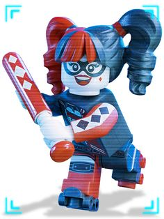 by pencillo - Lego Batman - Ideas of Lego Batman - Harley Quinn Lego Batman Vs, Spiderman, Lego Batman Movie, Supergirl, Batgirl, Dc Universe, Marvel Dc, Harley Quinn Et Le Joker, Disney Pixar