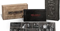 'Sons of Anarchy' Complete Collector's Set Blu-ray  Eller andra serieboxar (helst blu-ray)