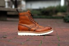 GRENSON FRED V BROGUE BOOT - Google Search