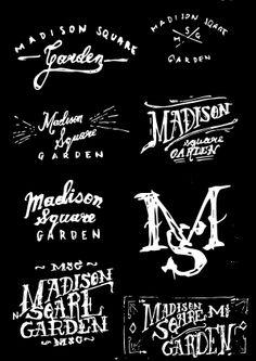 Logos inspirations by Justyna Frąckiewicz, via Behance