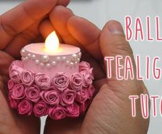 Tealights are so fun to play with! They are cheap, simple, and can be used in so many different ways. Here's a fun way to decorate your tealights to look like a rose ombre cake