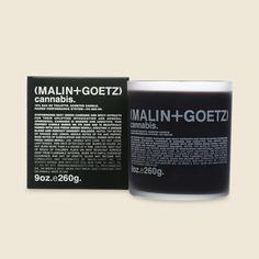 Malin + Goetz Candle - Cannabis