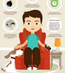 Your Child's Brain On Television [INFOGRAPHIC]