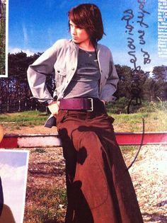 Genouillère sur jupe longue