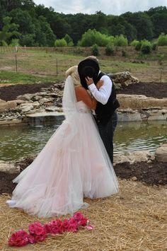 A Kiss At Rocking J Waterfall