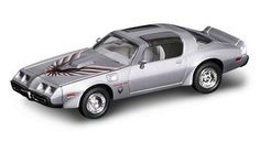 SILVER 1979 PONTIAC FIREBIRD TRANS AM YATMING 1:43 ROAD SIGNATURE DIECAST CAR #YATMING
