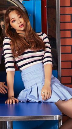 Kang Mina Kpop Girl Groups, Kpop Girls, Kpop Hair, Cosmic Girls, Attractive People, Korean Music, Interesting Faces, Kpop Fashion, Asian Beauty