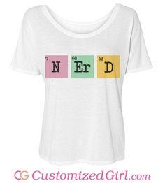 Chemistry Nerd from Customized Girl