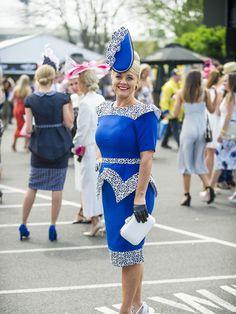 Fashion and fun at Caulfield Eliza Icke. Picture: Eugene Hyland