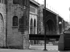 Eads Bridge (St. Louis, MO riverfront- Fall 2009)