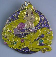 Disney Pin DLP - Princess Rapunzel Tangled  - Disneyland Paris