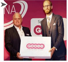 Feilo Sylvania is working together with Gooee to develop their 'full-stack' operating platform which connects the lighting system to the Internet of Things (IoT).