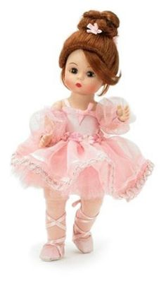 Madame Alexander 8 Inch Classic Ballerina Collection Doll - Pink Shimmer Ballerina Madame Alexander http://www.amazon.com/dp/B000O911XC/ref=cm_sw_r_pi_dp_1pRAub0TT0NW1