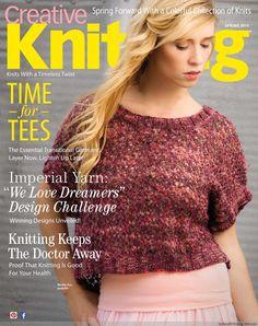 Creative Knitting 2015 春 - 紫苏 - 紫苏的博客