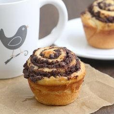 Chocolate Swirl Buns Recipe by Tracey's Culinary Adventures | The Daily Quirk