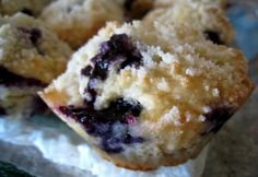 Blueberry and Ricotta Muffins Recipe