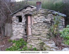 Old Stone Cottage Stock Photo 542214 : Shutterstock
