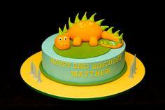 Dinosaurier Tortendekoration zum 2 Geburtstag eines Jungen Mehr