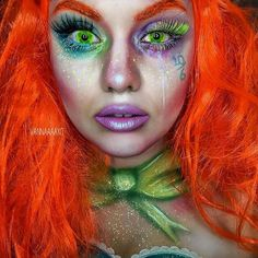 Love love love this mad hatter look by Giovanna G. She used our loose pigments Love love love this mad hatter look by Giovanna G. She used our loose pigments in Obnoxious Corrupt Wicked Shameless and Fraudulent Shop: furlesscosmetics. Costume Halloween, Halloween Fun, Halloween Face Makeup, Mad Hatter Makeup, Madd Hatter, Mad Hatter Girl, Scary Makeup, Fx Makeup, Female Mad Hatter