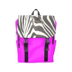 Zebra Casual Shoulders Backpack. FREE Shipping. FREE Returns. #lbackpacks #zebra