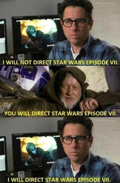 """Why J.J. Abrams is directing """"Star Wars"""" episode vii"""