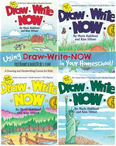Using Draw Write Now Books in Your Homeschool