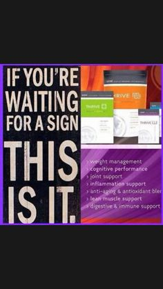Start your 8 week Thrive experience today!!! Sign up for free at http://jamieromines.le-vel.com