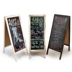 I would like one of these for parties Retail Display Wooden Blackboard - Large