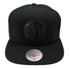 Mitchell & Ness Black Out Snapback New York Knicks #snapback #cap #caps #headwear #mitchellness #nba #knicks http://rudestylz.de/mitchell-snapback-black-knicks.htm