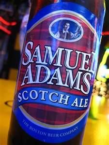sam adams scotch ale, don't see it very often and wish I did because more people should try it