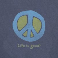 Life is good. I must have twenty or more 'Life Is Good' tees. I use them for jammies because they are all cotton and the softest knits ever made. :)