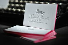 Oh So Beautiful Paper: Letterpress Illustrated Business Cards from A Fine Press