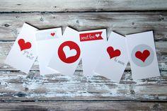 Valentine's Day Printable Cards