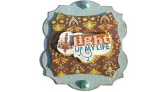 Light of my life  Scrapbook embellishment  Paper by itsmemanon, $2.00