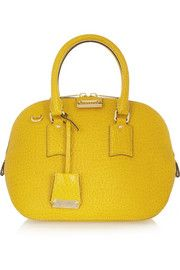 Burberry Shoes & AccessoriesOrchard small croc-effect leather bowling bag