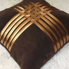 Real Leather Home Accesories - Top 10 Brands Leather Home Accesories Real Leather Home Accesories - Top 10 Brands miyabi casa leather pillow Sewing Pillows, Diy Pillows, Sofa Pillows, Throw Pillows, Cushion Cover Designs, Cushion Covers, Pillow Covers, Canadian Smocking, Pillow Crafts