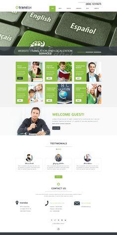 Translation Services - WordPress Theme