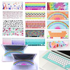 Flexible Silicon Decal Keyboard Cover Keypad Skin for Mac Macbook Air Pro 13 15 #UnbrandedGeneric