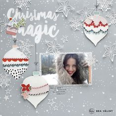 Winter Magic with December Days collection – Pinkfresh Studio