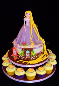 Rapunzel Cake - Made for a little girl called Jess :-)
