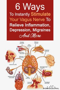 6 Ways To Instantly Stimulate Your Vagus Nerve To Relieve Inflammation, Depression, Migraines And Health And Wellbeing, Health And Nutrition, Health Tips, Health Benefits, Nutrition Education, Health Fitness, Vagus Nerve Stimulator, Nerf Vague, Nursing