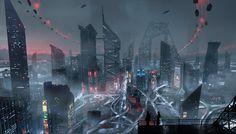 #scifi #illustration #conceptart