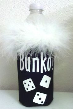 Bunko/Bunco water bottle or longneck bottle koozie by KoozieQ