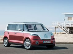 Bulli: Volkswagen Releases an All-Electric Concept Version of the Classic VW Bus