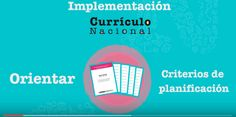Teresa Clotilde Ojeda Sánchez: Currículo Nacional: cartilla de planificación curr...
