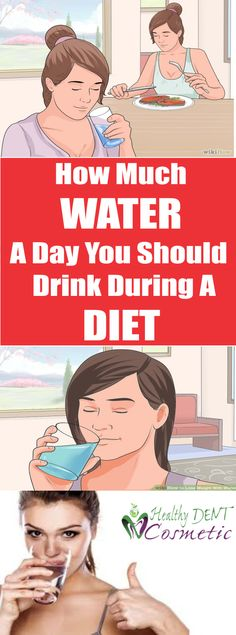 Slim Fast and Healthy: how much water a day should drink during a diet?