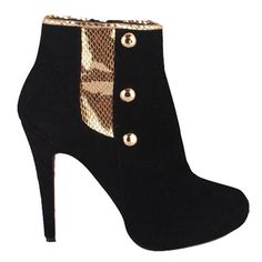 Noticeable & Discount Christian Louboutin Golden Icon Ankle Boots Black Outlet | Christian Louboutin Fifre Suede Booties Black