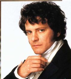 Mr Darcy, my favorite Darcy, as played by Colin Firth