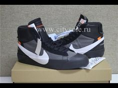 PK God Off White X Nike Blazer Mid Black Grim Reepers Retail Materials from  CitySole.ru 3ca5c9d92